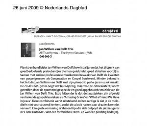 Jan Willem van Delft 26 - 06 - 09